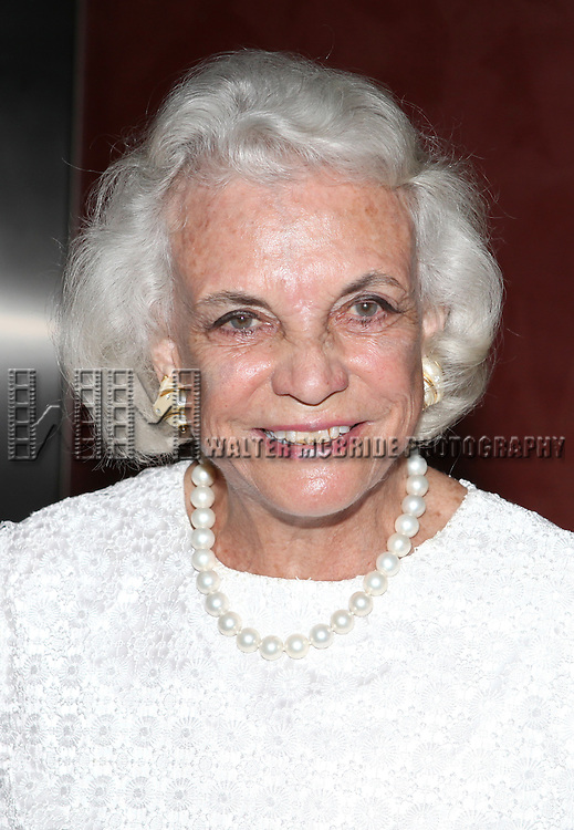 Sandra Day O'Connor.attending the Signature Theatre Stephen Sondheim Award Gala reception honoring Patti Lupone at the Embassy of Italy in Washington D.C. on 4/16/2012.