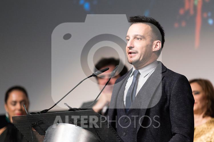 The director Alejandro Amenabar during Spanish Cinema Gala at 64 Seminci Cinema Festival. October 22,2019. (ALTERPHOTOS/IVAN TOME)