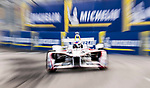 Neel Jani of Switzerland from DRAGON competes during the FIA Formula E Hong Kong E-Prix Round 2 at the Central Harbourfront Circuit on 03 December 2017 in Hong Kong, Hong Kong. Photo by Victor Fraile / Power Sport Images