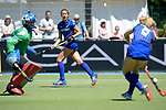 GER - Mannheim, Germany, May 27: During the women semi-final match between Mannheimer HC and Club an der Alster at the Final4 tournament May 27, 2017 at Am Neckarkanal in Mannheim, Germany. (Photo by Dirk Markgraf / www.265-images.com) *** Local caption *** Maria Tost #19 of Mannheimer HC