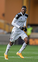 Fulham's Andre-Frank Zambo Anguissa <br /> <br /> Photographer David Horton/CameraSport<br /> <br /> The Premier League - Wolverhampton Wanderers v Fulham - Sunday 4th October 2020 - Molineux Stadium - Wolverhampton<br /> <br /> World Copyright © 2020 CameraSport. All rights reserved. 43 Linden Ave. Countesthorpe. Leicester. England. LE8 5PG - Tel: +44 (0) 116 277 4147 - admin@camerasport.com - www.camerasport.com
