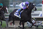 September 22, 2012. Handsome Mike, ridden by Irad Ortiz Jr. and trained by Leandro Mora, wins the Gr. II Pennsylvania Derby at Parx Racing on Cotillion/PA Derby Day. (Joan Fairman Kanes/Eclipse Sportswire)