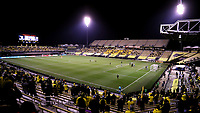 COLUMBUS, OH - DECEMBER 12: A wide shot of the field at MAPFRE Stadium before a Columbus Crew corner kick in the first half during a game between Seattle Sounders FC and Columbus Crew at MAPFRE Stadium on December 12, 2020 in Columbus, Ohio.