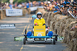 Team 宜靜一起玩吧  in action during the Red Bull Soapbox Race 2017 Taipei at Multipurpose Gymnasium National Taiwan Sport University on 01 October 2017, in Taipei, Taiwan. Photo by Victor Fraile / Power Sport Images