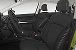 Front seat view of a 2015 Subaru Xv Hybrid 5 Door SUV front seat car photos