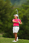 TAOYUAN, TAIWAN - OCTOBER 28:  Yani Tseng of Taiwan plays her second shot on the 14th hole during the day four of the Sunrise LPGA Taiwan Championship at the Sunrise Golf Course on October 28, 2012 in Taoyuan, Taiwan.  Photo by Victor Fraile / The Power of Sport Images