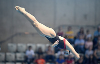 Canada's Pamela Ware competes in the 3m Springboard <br /> <br /> Photographer Hannah Fountain/CameraSport<br /> <br /> FINA/CNSG Diving World Series 2019 - Day 3 - Sunday 19th May 2019 - London Aquatics Centre - Queen Elizabeth Olympic Park - London<br /> <br /> World Copyright © 2019 CameraSport. All rights reserved. 43 Linden Ave. Countesthorpe. Leicester. England. LE8 5PG - Tel: +44 (0) 116 277 4147 - admin@camerasport.com - www.camerasport.com