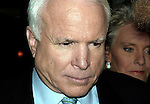 """John McCain at a party hosted by the magazine """"Fast Company"""", during the Republican Convention in NYC, 2004"""