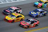 2017 NASCAR Cup - Clash at Daytona<br /> Daytona International Speedway, Daytona Beach, FL USA<br /> Sunday 19 February 2017<br /> Joey Logano, Austin Dillon, Martin Truex Jr, 5-hour ENERGY Extra Strength Toyota Camry, Chase Elliott<br /> World Copyright: John K Harrelson/LAT Images<br /> <br /> <br /> ref: Digital Image 17DAY1jh_01817