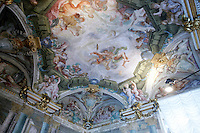 Affreschi nel Museo di Palazzo Rosso, Genova.<br /> Frescoes at Palazzo Rosso's Museum in Genoa.<br /> UPDATE IMAGES PRESS/Riccardo De Luca