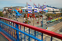 Pier 39 and Fisherman's Wharf, San Francisco, California