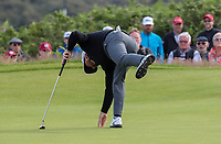 180719 | The 148th Open - Day 1<br /> <br /> Graeme McDowell of Northern Ireland on the 1st green during the 148th Open Championship at Royal Portrush Golf Club, County Antrim, Northern Ireland. Photo by John Dickson - DICKSONDIGITAL