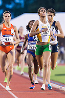 Olicoa Williams of Baylor wins heat four of 800 meter prelims during West Preliminary Track and Field Championships, Friday, May 29, 2015 in Austin, Tex. (Mo Khursheed/TFV Media via AP Images)