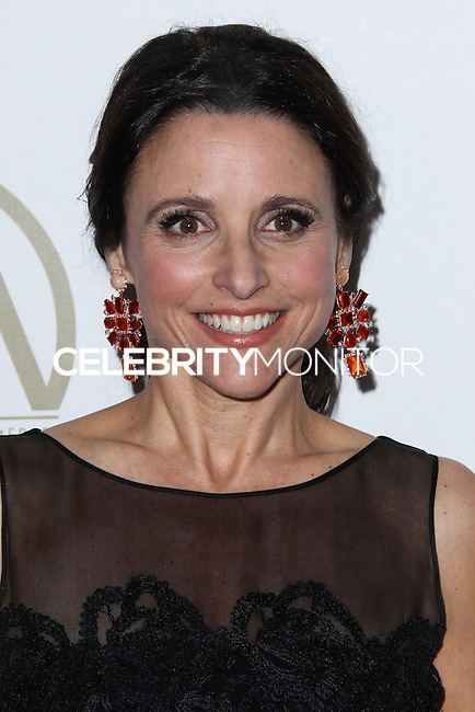 BEVERLY HILLS, CA - JANUARY 19: Julia Louis-Dreyfus at the 25th Annual Producers Guild Awards held at The Beverly Hilton Hotel on January 19, 2014 in Beverly Hills, California. (Photo by Xavier Collin/Celebrity Monitor)