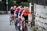 The peloton climb Côte de Rimiez during La Course By Le Tour de France 2020, running 96km from Nice to Nice, France. 29th August 2020.<br /> Picture: ASO/Thomas Maheux | Cyclefile<br /> All photos usage must carry mandatory copyright credit (© Cyclefile | ASO/Thomas Maheux)
