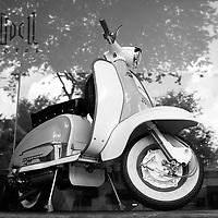 vintage Lambretta, Ho Chi Minh City, Vietnam <br /> <br /> PHOTO : Roussel Fine Art Photo