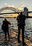 Photo Walk Attendees at Milsons Point & across the Bridge walk in Sydney, NSW, Australia
