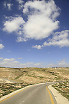 Judea, Southern Hebron Mountain, a road in the vicinity of biblical Carmel