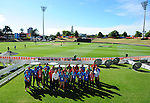 during the 2015 Cricket World Cup in New Zealand in February, 2015