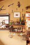 January 2, 2013. Pittsboro, North Carolina.. Keys from the home Ms. Scarpa owns in Tuscany, Italy line a wall in her kitchen.. Siglinda Scarpa, originally from northern Italy, runs the Goathouse Refuge, a no kill shelter for cats. Scarpa, who is also a ceramic artist, runs the shelter with 5 full time employees and currently has over 260 cats in the refuge..