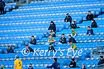 Kerry Substitutes during the Joe McDonagh Cup Final match between Kerry and Antrim at Croke Park in Dublin.