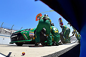 NASCAR XFINITY Series<br /> One Main Financial 200<br /> Dover International Speedway, Dover, DE USA<br /> Saturday 3 June 2017<br /> Daniel Suarez, Subway Toyota Camry, makes a pit stop.<br /> World Copyright: John K Harrelson<br /> LAT Images<br /> ref: Digital Image 17DOV1jh_04906