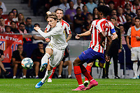 Luka Modric of Real Madrid during La Liga match between Atletico de Madrid and Real Madrid at Wanda Metropolitano Stadium in Madrid, Spain. September 28, 2019. (ALTERPHOTOS/A. Perez Meca)<br /> Liga Spagna 2019/2020 <br /> Atletico Madrid - Real Madrid <br /> Foto Perez Meca Alterphotos / Insidefoto <br /> ITALY ONLY