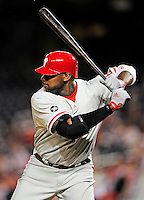 27 September 2010: Philadelphia Phillies' first baseman Ryan Howard in action against the Washington Nationals at Nationals Park in Washington, DC. Mandatory Credit: Ed Wolfstein Photo