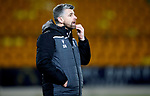 St Johnstone v Motherwell…..12.02.20   McDiarmid Park   SPFL<br />A bemused Stephen Robinson<br />Picture by Graeme Hart.<br />Copyright Perthshire Picture Agency<br />Tel: 01738 623350  Mobile: 07990 594431