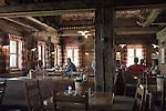 Austria, Vorarlberg, Warth: Hochalp hut, mountain Inn at Steffisalpe hiking-region
