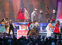 Dancers perform during the FIFA Final Draw for the FIFA World Cup 2010 South Africa held at the Cape Town International Convention Centre (CTICC) on December 4, 2009