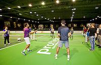 Februari 09, 2015, Netherlands, Rotterdam, Ahoy, ABN AMRO World Tennis Tournament, Jean-Julien Rojer (NED)<br /> Photo: Tennisimages/Henk Koster