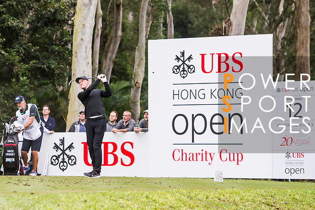Wade Ormsby of Australia tees off during the day three of UBS Hong Kong Open 2017 at the Hong Kong Golf Club on 25 November 2017, in Hong Kong, Hong Kong. Photo by Marcio Rodrigo Machado / Power Sport Images