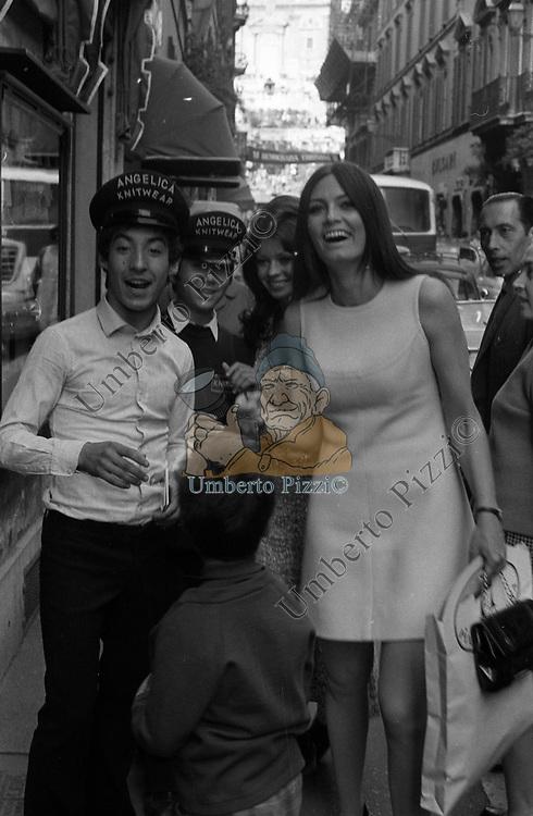 MARISA MELL <br /> VIA DEI CONDOTTI ROMA 1973