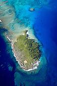 Ile Gié, baie des crabes, Gadji, Ile des Pins, Nouvelle-Calédonie. Site classé au Patrimoine Mondial de l'Humanité (UNESCO)