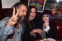 "HOLLYWOOD - FEBRUARY 20: Rob Zombie and Kelly Osbourne attend Ozzy Osbourne global tattoo and album listening party to celebrate his new album ""Ordinary Man"" on February 20, 2020 in Hollywood, California. (Photo by Lionel Hahn/Epic Records/PictureGroup)"