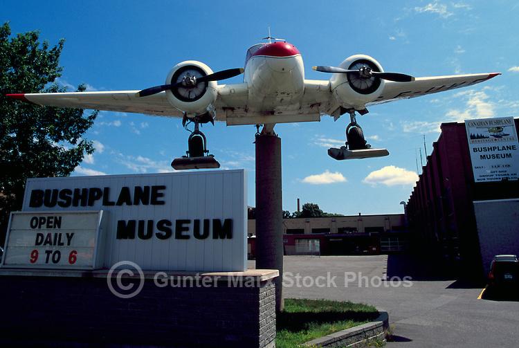 Bushplane on Display at Canadian Bushplane Heritage Centre, Sault Ste. Marie, ON, Ontario, Canada
