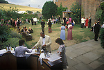 Glyndebourne Festival Opera drinks served at the bar during the interval. 1985 1980s UK