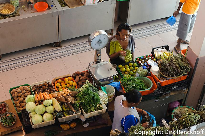Markthalle in Mindelo, Sao Vicente, Kapverden, Afrika