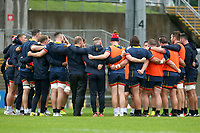 Thursday 7th October 2021<br /> <br /> Ulster players gather during Ulster Rugby Captain's Run held at Kingspan Stadium, Ravenhill Park, Belfast, Northern Ireland. Photo by John Dickson/Dicksondigital