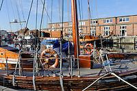 Alter Hafen in Wismar, Mecklenburg-Vorpommern, Deutschland