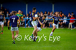 Team mates Billy O'Rahilly and Cillian O'Connor of  Knocknagoshel collide during their encounter with Lispole in the County Football league division 4 relegation game.
