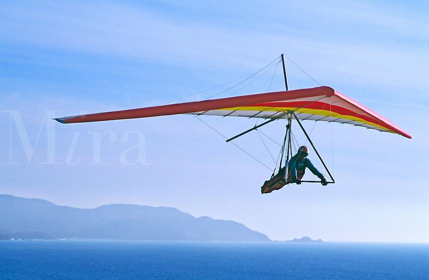 Hang glider.
