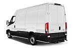 Rear three quarter view of a 2021 Iveco Daily 12m3 L3H2 4 Door Cargo Van