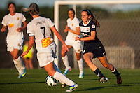 Sky Blue FC midfielder Katy Freels (Frierson) (17). The Western New York Flash defeated Sky Blue FC 3-0 during a National Women's Soccer League (NWSL) match at Yurcak Field in Piscataway, NJ, on June 8, 2013.