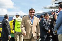 Orlando, Florida - Saturday, June 04, 2016: Costa Rican manager Oscar Ramirez during a Group A Copa America Centenario match between Costa Rica and Paraguay at Camping World Stadium.