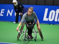 December 16, 2014, Rotterdam, Topsport Centrum, Lotto NK Tennis, Jiske Griffioen (NED)<br /> Photo: Tennisimages/Henk Koster
