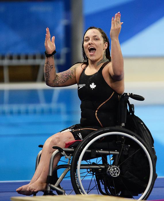 Krystal Shaw, Lima 2019 - Para Swimming // Paranatation.<br /> Krystal Shaw competes in Para Swimming // Krystal Shaw participe en paranatation. 26/08/2019.