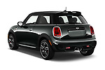Car pictures of rear three quarter view of 2019 MINI Cooper John-Cooper-Works-Hardtop Door Hatchback Angular Rear