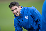 St Johnstone Training….14.10.16<br />Michael Coulson pictured in training this morning atr McDiarmid Park ahead of tomorrows game against Kilmarnock<br />Picture by Graeme Hart.<br />Copyright Perthshire Picture Agency<br />Tel: 01738 623350  Mobile: 07990 594431